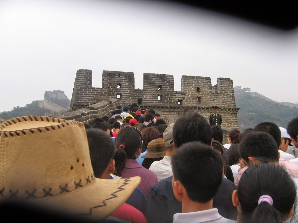 Welcome to the great wall of China!
